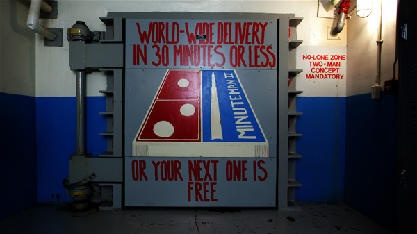 Entrance to the Minutemen Missile Response Center