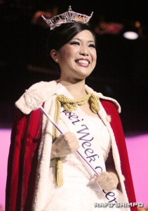 Lani Nishiyama is crowned the 2010 Nisei Queen!!