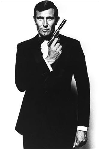 George Lazenby as James Bond
