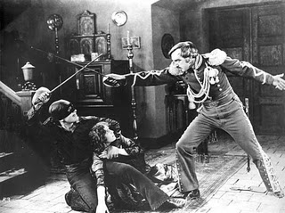 Douglas Fairbanks as the original Zorro, defender of the poor, slayer of senoritas' corazons.