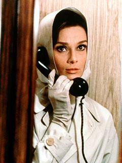 """Audrey Hepburn in """"Charade"""""""