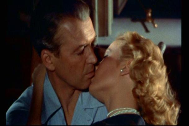 "Grace seduces James ""Lucky Guy"" Stewart in, ""Rear Window"""