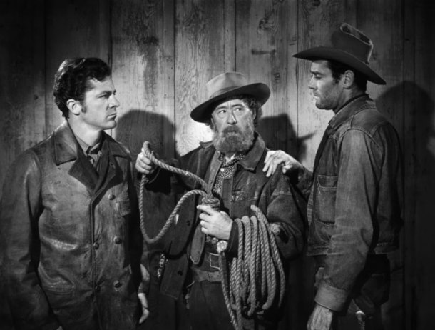 "Henry Fonda (right) looks to stop a lynching in ""The Ox-Bow Incident"""