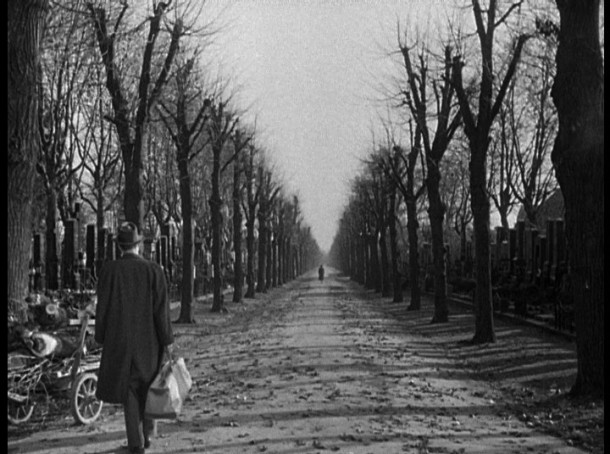 "The epic closing shot of ""The Third Man"""
