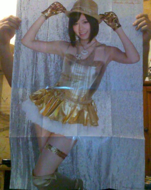 Jumbo Atsuko Maeda poster!!