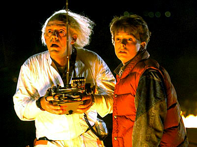 "Great Scott!! Christopher Lloyd and Michael J. go ""Back to the Future"""