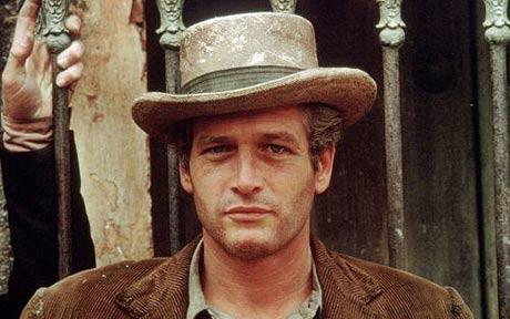 "Paul Newman in ""Butch Cassidy and the Sundance Kid."""
