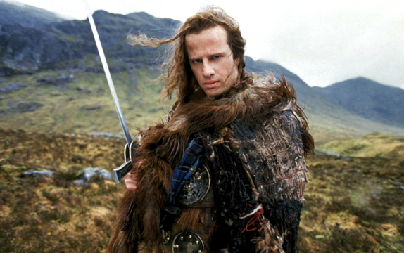 "Christopher Lambert IS ""Highlander"""