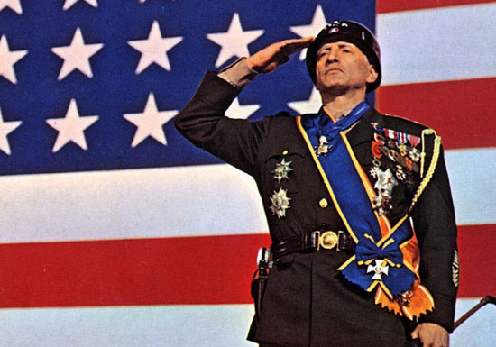 "George C. Scott in ""Patton"""