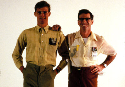 "Gilbert and Lewis lead the ""Revenge of the Nerds"""