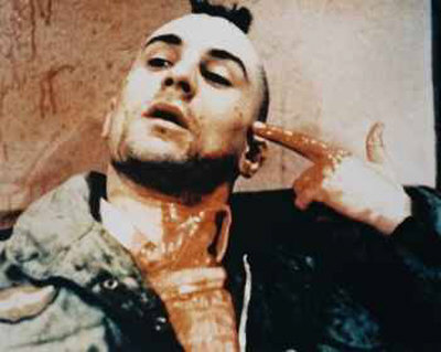 "Robert de Niro takes one for society in ""Taxi Driver"""