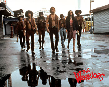 "Not your average, everyday gang! It's ""The Warriors!"" Can you dig it??"
