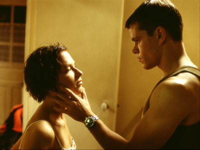 Jason Bourne moonlights as a hair stylist.