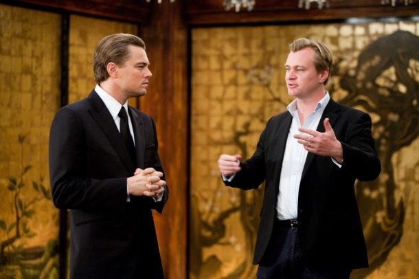 """So you see, Leo, we're going to perform inception on the Academy voters to make up for my directing snub."""