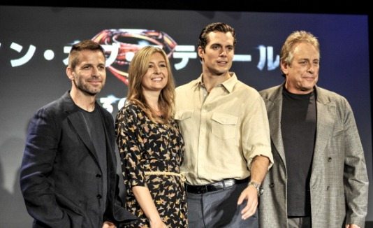 """""""Man Of Steel"""" Press Conference in Japan"""