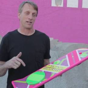 Huvr Tech Hover Board Viral Video Revealed as Fake