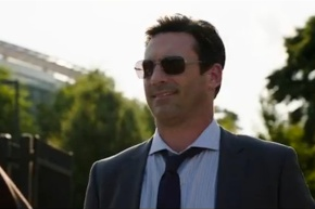 Jon Hamm Talks 'Million Dollar Arm,' Sports Agents and His Weird Left Boob