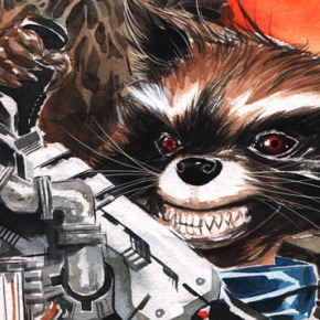 Marvel Turns November into Groot and Rocket Raccoon Month