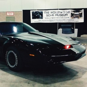 'Back to the Future' & 'Knight Rider' Cars Showcased at Hollywood Sci-Fi Museum Comikaze Exhibit