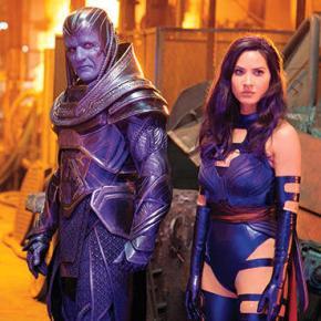 New 'X-Men: Apocalypse' Pics Feature First Look at Oscar Isaacs as TitleVillain