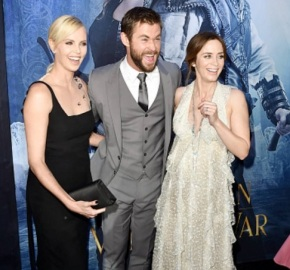 Chris Hemsworth Leads 'The Huntsman' Cast at World Premiere