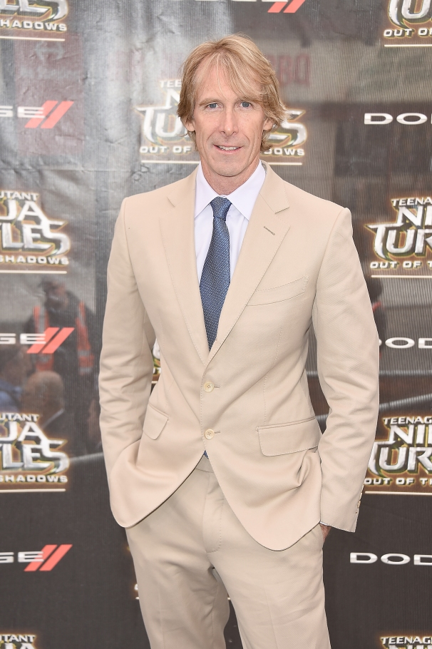 NEW YORK, NY - MAY 22: Producer Michael Bay attends the New York Premiere of the Paramount Pictures title ìTeenage Mutant Ninja Turtles: Out of the Shadowsî, on May 22, 2016 at Madison Square Garden in New York City, New York. (Photo by Nicholas Hunt/Getty Images for Paramount International) *** Local Caption *** Michael Bay