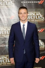 "New York, NY - 5/22/16 - Paramount Pictures and Nikelodeon Movies Present the World Premiere of ""Teenage Mutant Ninja Turtles: Out of the Shadows"" Sponsored by Dodge..-Pictured: Stephen Amell.-Photo by: Marion Curtis/Starpix"