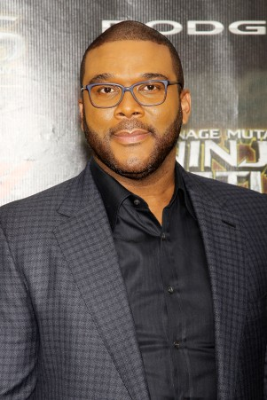 "New York, NY - 5/22/16 - Paramount Pictures and Nikelodeon Movies Present the World Premiere of ""Teenage Mutant Ninja Turtles: Out of the Shadows"" Sponsored by Dodge..-Pictured: Tyler Perry.-Photo by: Marion Curtis/Starpix"