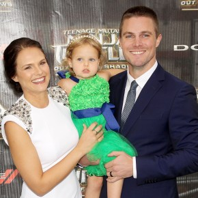 Stephen Amell Leads Stars at 'Teenage Mutant Ninja Turtles' Premiere
