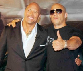 Dwayne Johnson, Vin Diesel Meet Following Public Rant About 'Unprofessional' Co-Stars