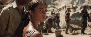 Creating 'Tomb Raider' Look, Courting Villains, and Battling Scorpions on Set