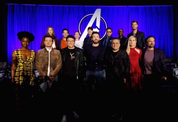 "Marvel Studios' ""Avengers: Endgame"" Global Junket Press Conference"
